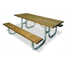 10 foot Picnic Table FRAME ONLY 238H EXTRA HEAVY DUTY FRAME 4 LEGS