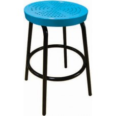 30 inch Tall Perforated Stool