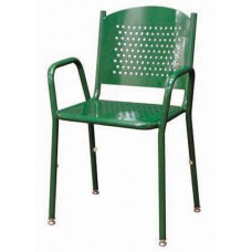 31 5-8 inch Tall Stackable Perforated Chair