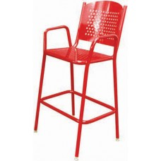 46 inch Tall Perforated Chair