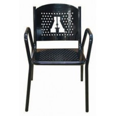 31 5-8 inch Tall Personalized Stackable Perforated Chair