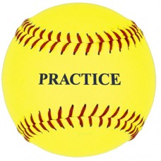11 inch Yellow Practice Softball